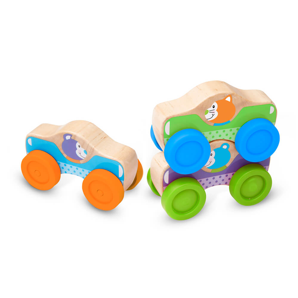 Melissa and Doug Animals Stacking Cars