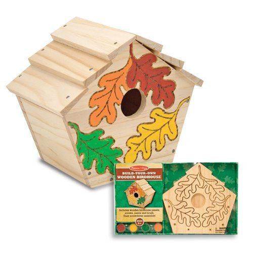 Melissa and Doug: DYO Birdhouse - Melissa and Doug - Little Funky Monkey