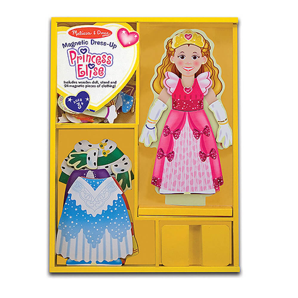 Melissa and Doug Princess Elise Magnetic Dressup