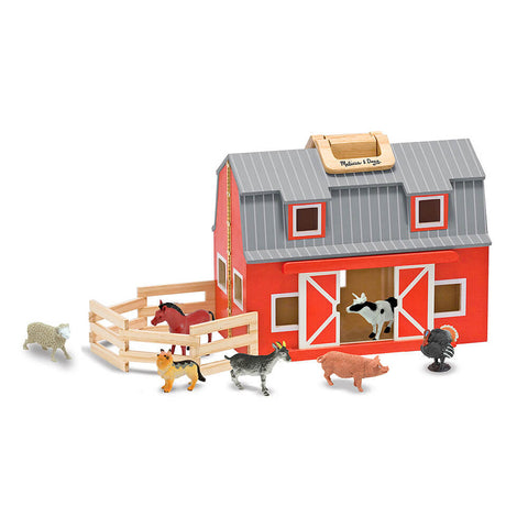 Melissa and Doug: Fold & Go Barn - Melissa and Doug - Little Funky Monkey - 1