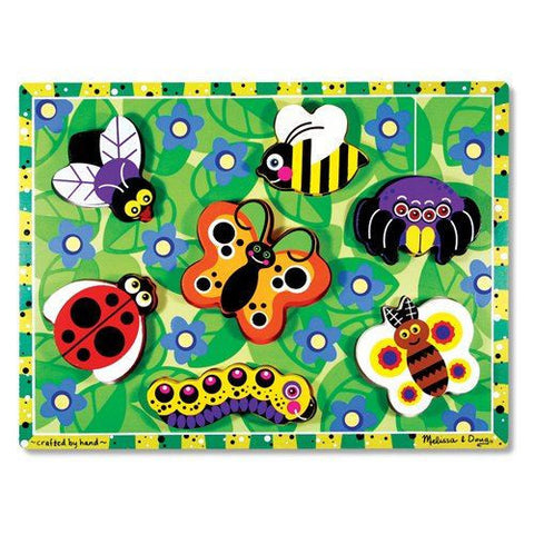 Melissa and Doug: Insects Chunky Puzzle - Melissa and Doug - Little Funky Monkey