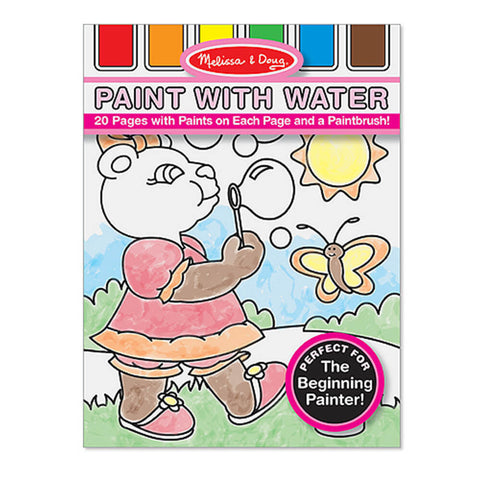 Melissa and Doug: Paint with Water Pink - Melissa and Doug - Little Funky Monkey - 1
