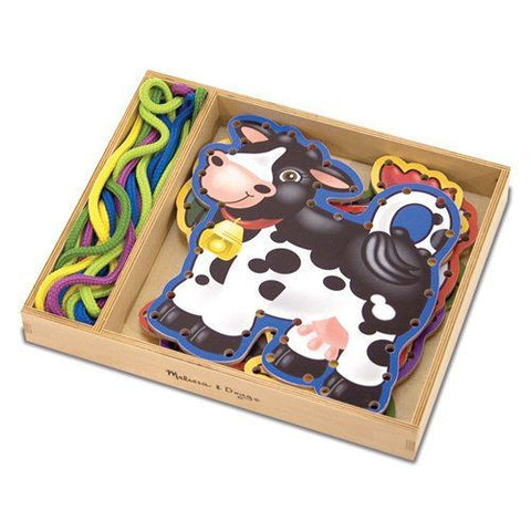 Melissa and Doug: Lace & Trace Farm Animals - Melissa and Doug - Little Funky Monkey