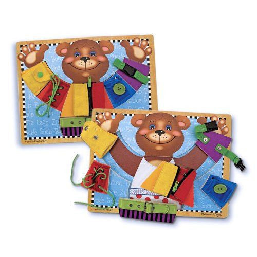 Melissa and Doug: Basic Skills Board - Melissa and Doug - Little Funky Monkey