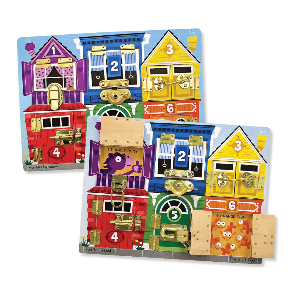 Melissa and Doug Latches Board