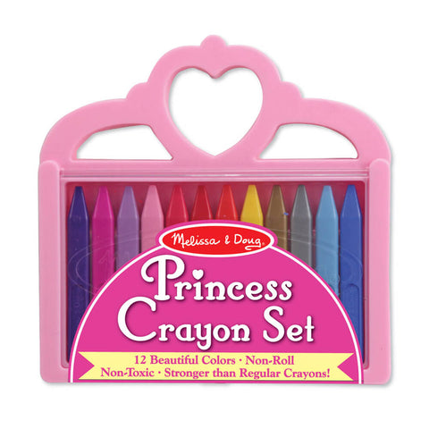 Melissa and Doug: Princess Crayon Set