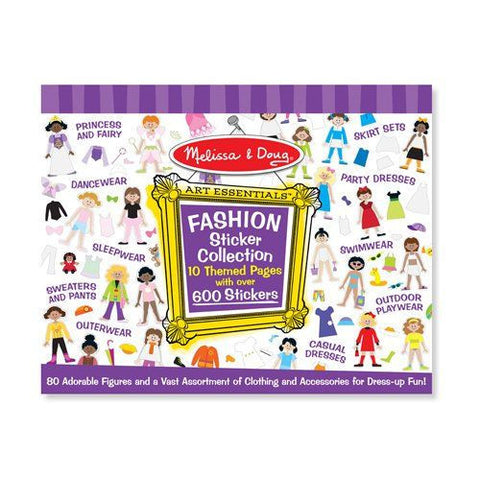 Melissa and Doug: Sticker Collection Fashion - Melissa and Doug - Little Funky Monkey