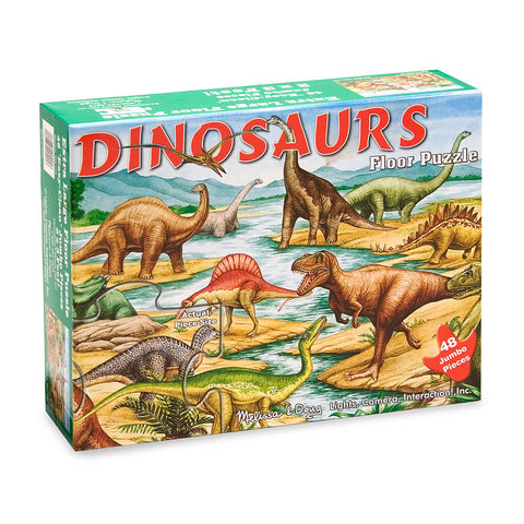 Melissa and Doug Dinosaurs Floor Puzzles 48pc