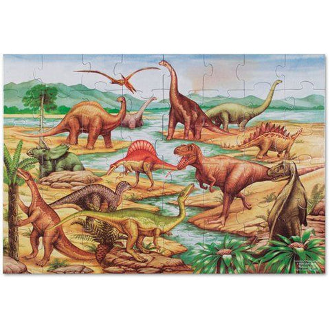 Melissa and Doug: Dinosaurs Floor Puzzles 48pc - Melissa and Doug - Little Funky Monkey
