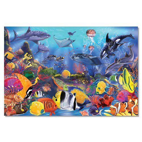 Melissa and Doug: Underwater Floor Puzzle 48pc - Melissa and Doug - Little Funky Monkey