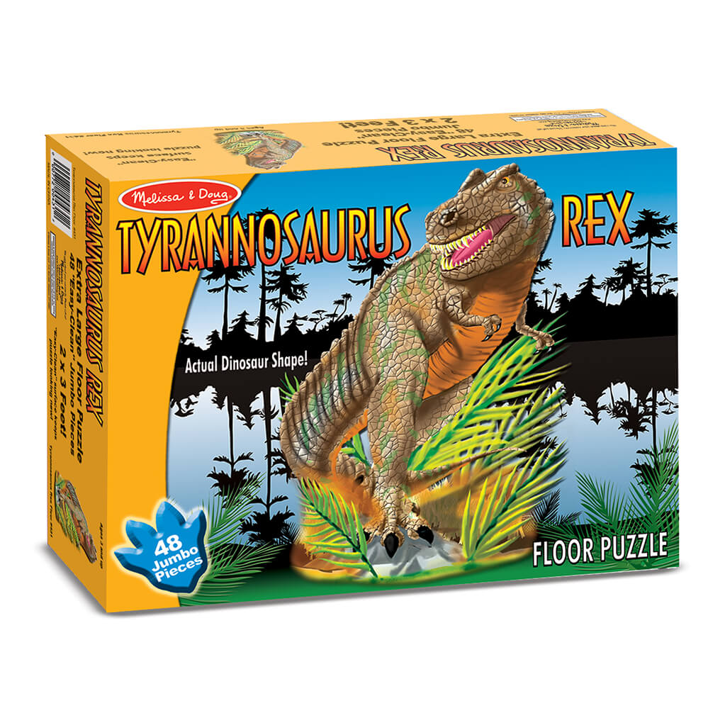 Melissa and Doug T-Rex Floor Puzzle 48pc