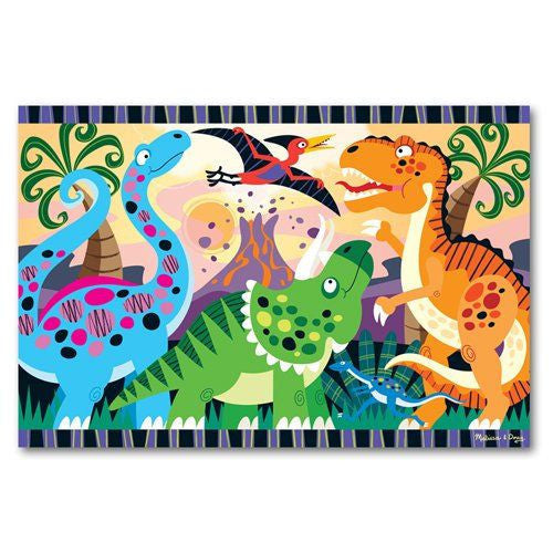 Melissa and Doug: Dinosaur Dawn Floor Puzzle 24pc - Melissa and Doug - Little Funky Monkey