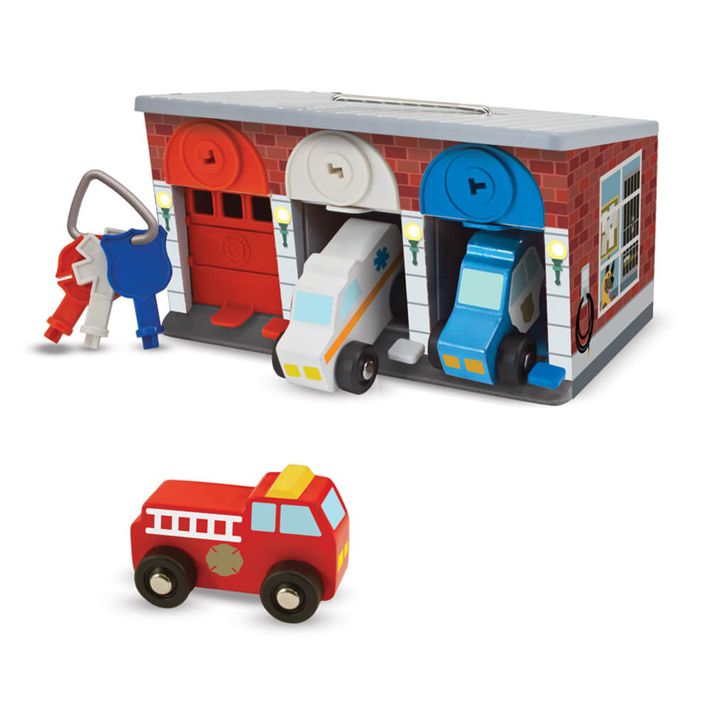 Melissa and Doug Keys & Cars Rescue Garage