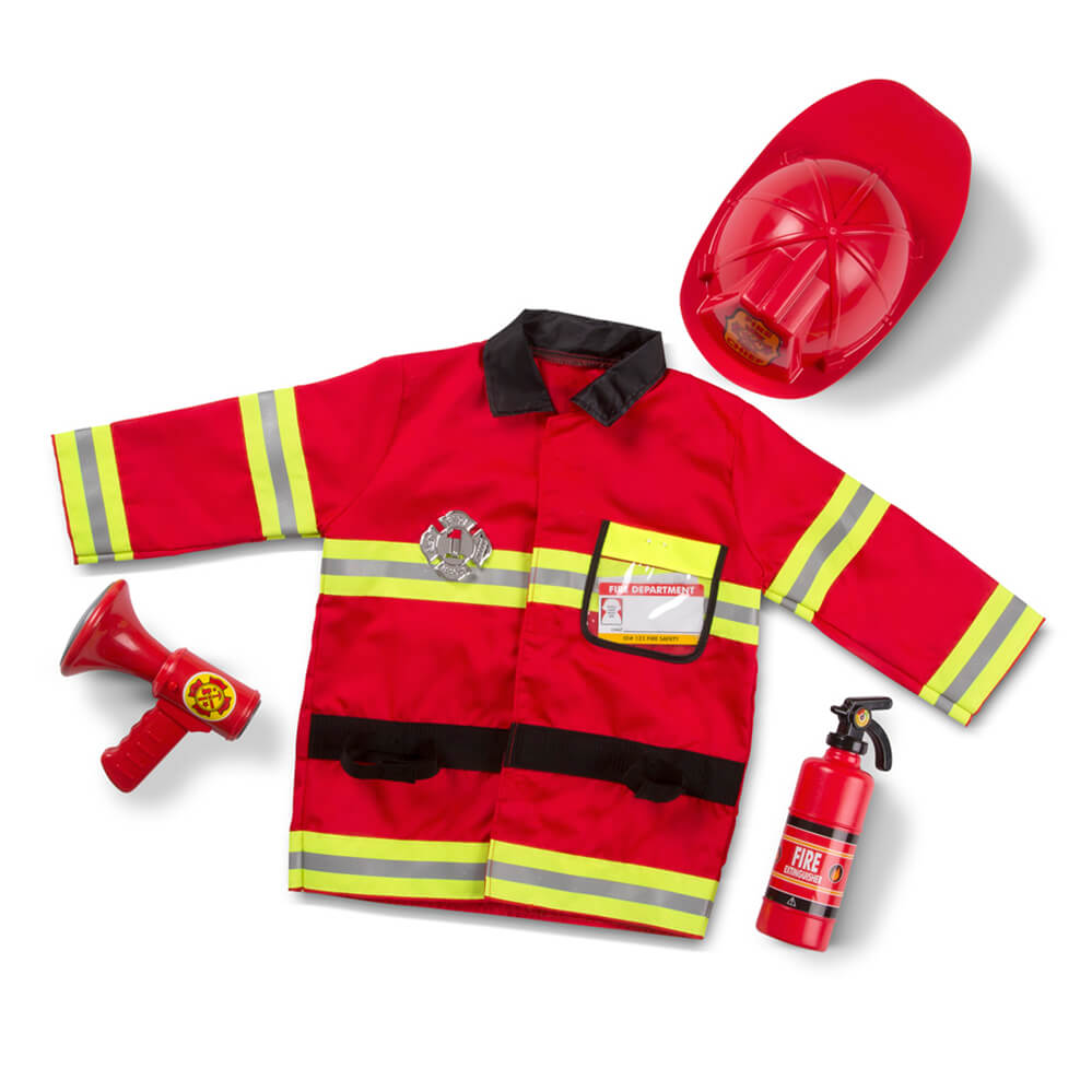 Melissa and Doug: Fire Chief Costume