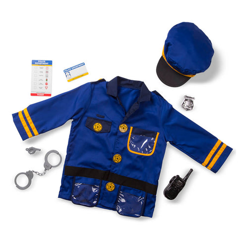 Melissa and Doug Police Officer Costume