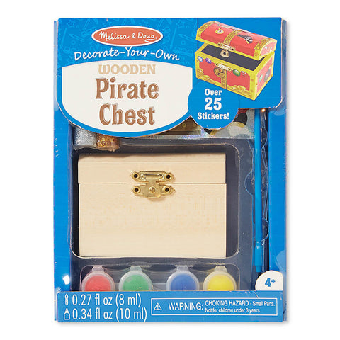 Melissa and Doug Pirate Chest DYO - Melissa and Doug - Little Funky Monkey - 1