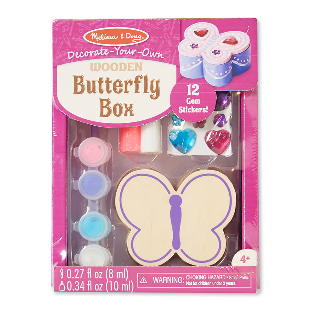 Melissa and Doug Butterfly Box DYO - Melissa and Doug - Little Funky Monkey - 1