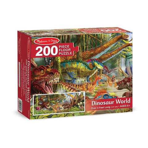 Melissa and Doug Dinosaur World Floor Puzzle