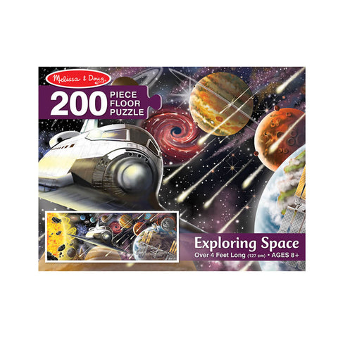 Melissa and Doug Exploring Space Floor Puzzle