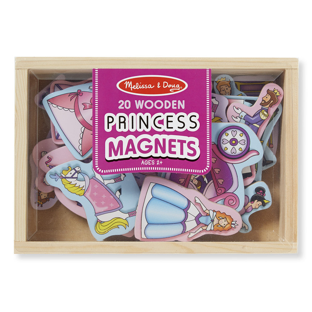 Melissa and Doug: Wooden Princess Magnets - Melissa and Doug - Little Funky Monkey - 1