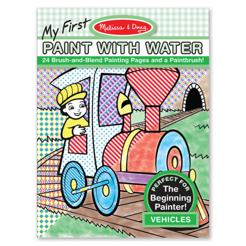 Melissa and Doug Vehicles My First Paint with Water - Melissa and Doug - Little Funky Monkey - 1