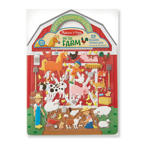 Melissa and Doug On the Farm Puffy Stickers - Melissa and Doug - Little Funky Monkey - 1