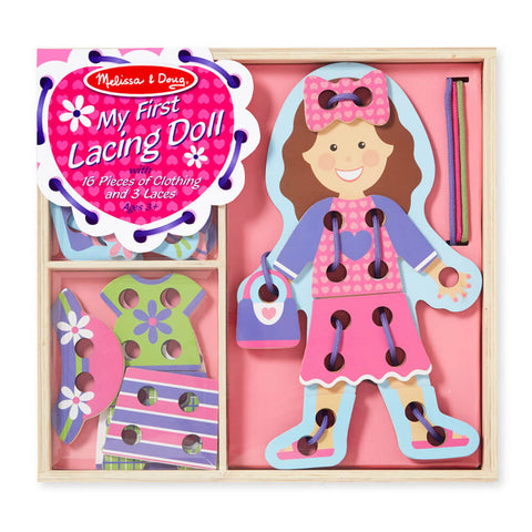 Melissa and Doug My First Lacing Doll