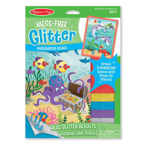 Melissa and Doug Underwater Scenes Mess Free Glitter