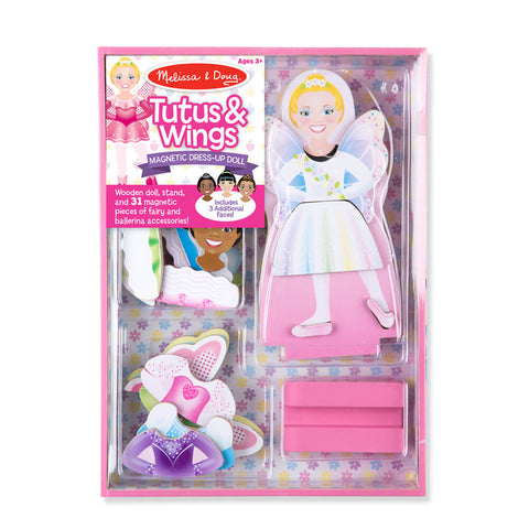 Melissa and Doug Tutu & Wings Magnetic Dressup