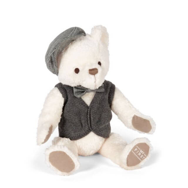 Mamas & Papas My 1st Bear Grey Soft Toy - Mamas & Papas - Little Funky Monkey