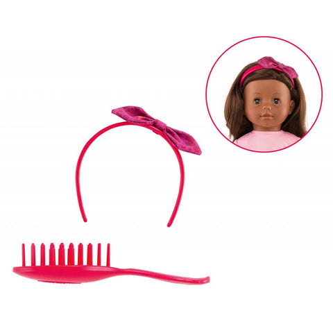 Corolle 36cm Hair Brush Set Ma Corolle - Corolle - Little Funky Monkey - 1