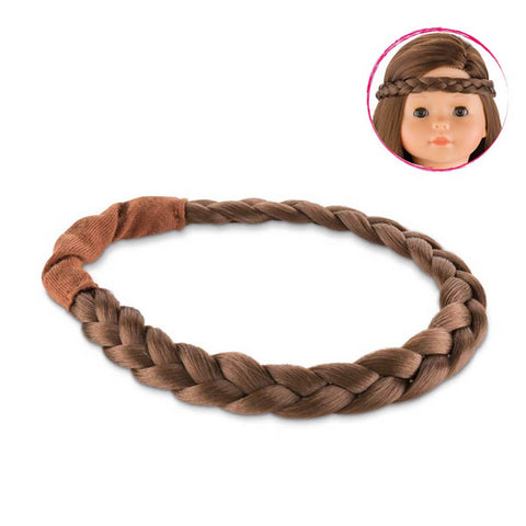 Corolle 36cm Brunette Braid Headband - Corolle - Little Funky Monkey - 1