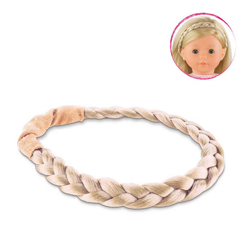 Corolle 36cm Blonde Braid Headband - Corolle - Little Funky Monkey - 1