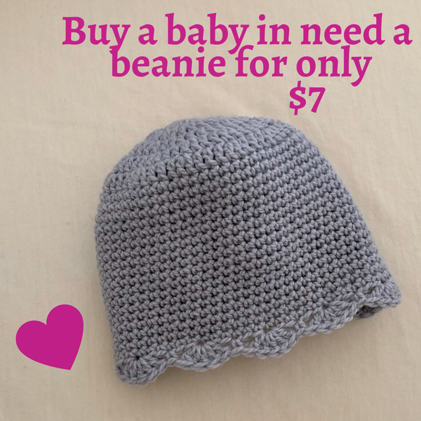 Buy a Baby a Wool Beanie