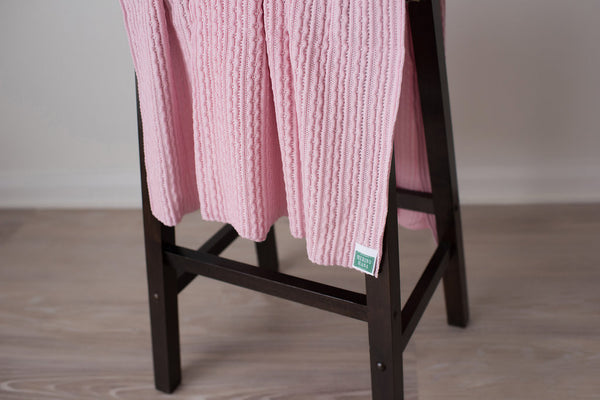 Merino Wool Baby Blanket 'Cinderella'. Made in New Zealand