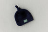 Merino Wool Crochet Hat - Navy