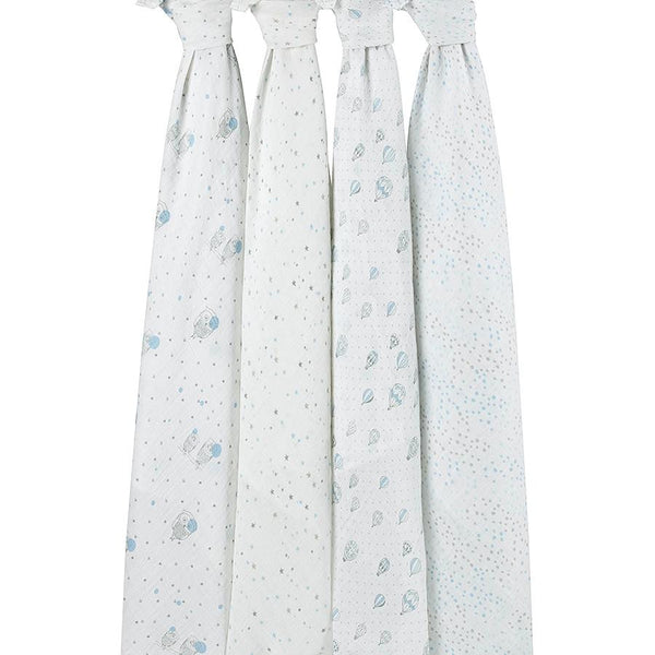 'Night Sky' Four Pack Swaddle aden + anais