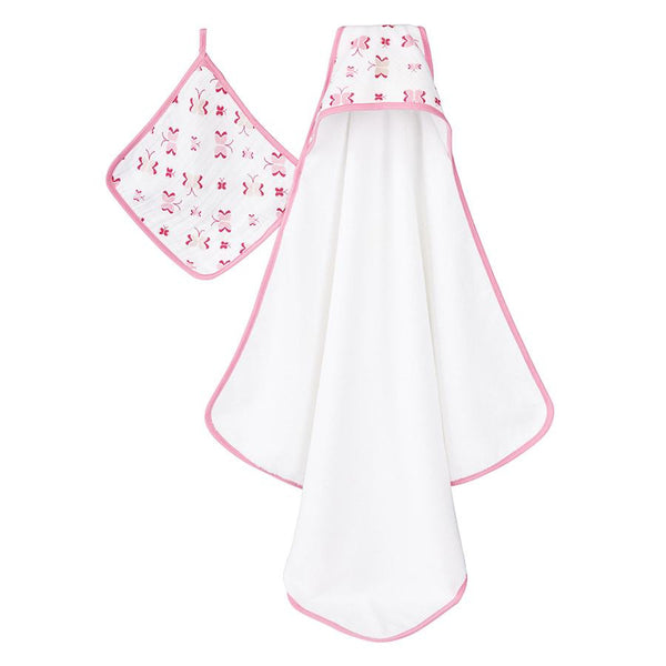 'Princess Posie' Hooded Towel Set