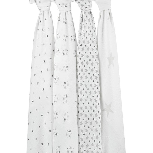 'Twinkle' Four Pack Swaddle aden + anais