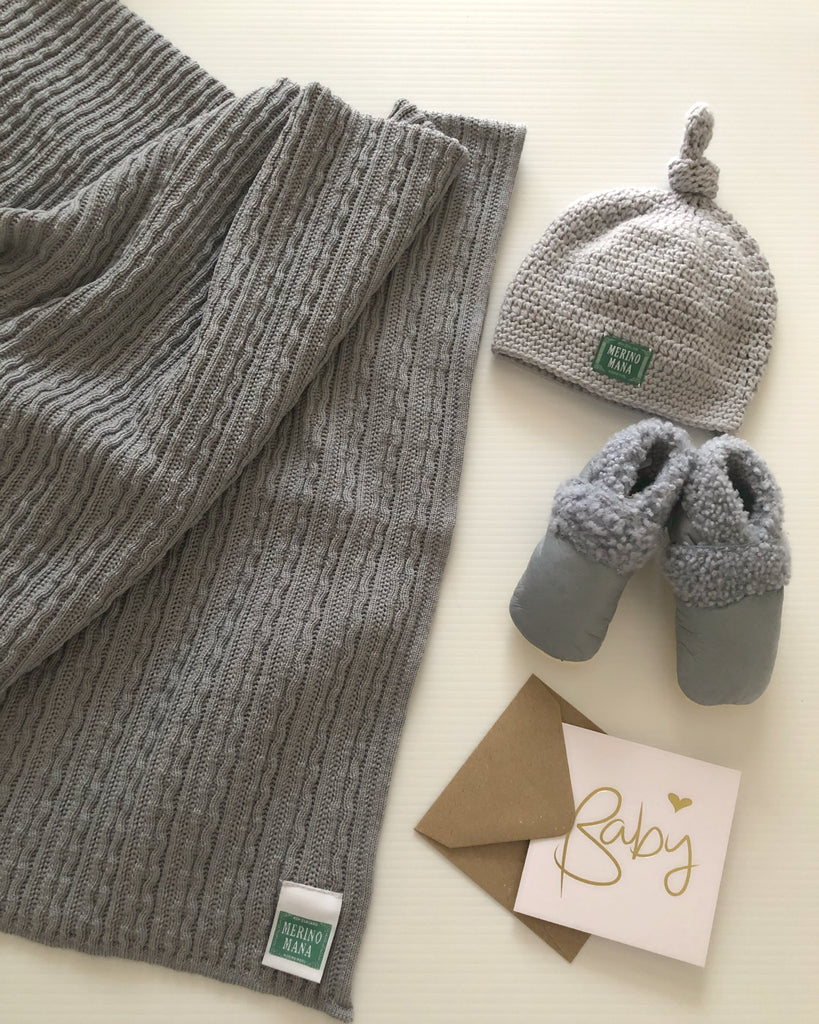 Cloudy Day Merino Wool Gift Set