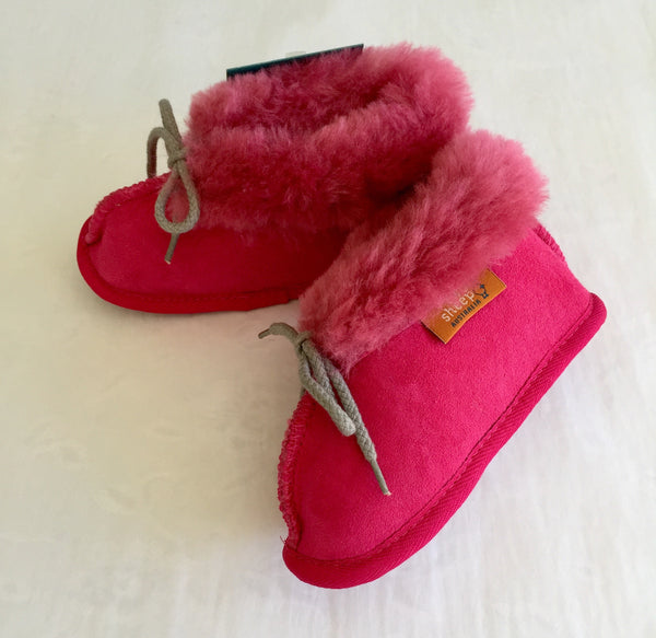 Toddler booties - Flamingo