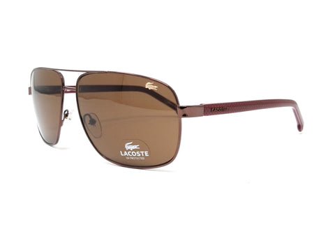 LACOSTE Sunglasses L162S 210 Brown Rectangle 61x13x140