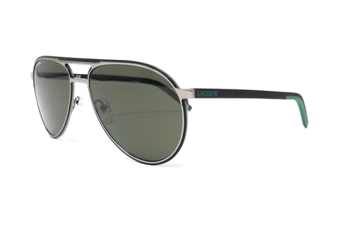 LACOSTE Sunglasses L193S 035 Shiny Grey Aviator 58x16x145