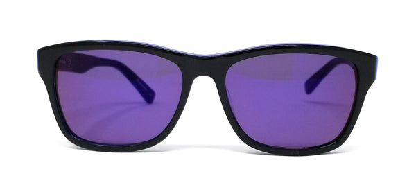 LACOSTE Sunglasses L683S 006 Black-Blue Square 55x16x140
