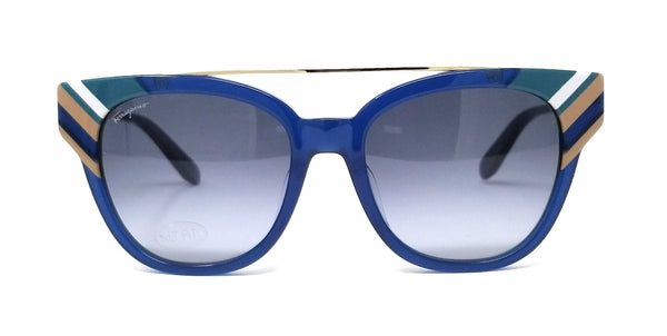 Salvatore Ferragamo Sunglasses SF882SA 421 Opaline Blue Women's 54x18x145