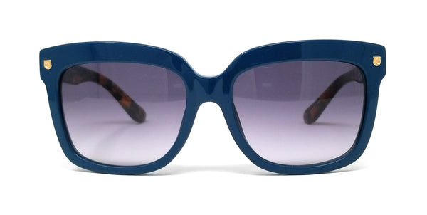 Salvatore Ferragamo Sunglasses SF676S 416 Petrol Blue Round Women's 55x17x135