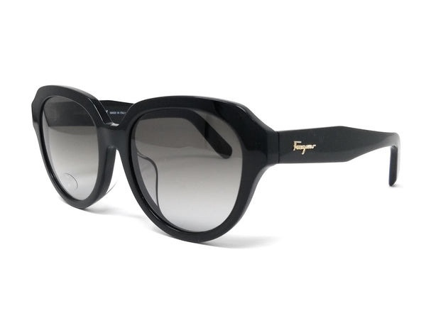 Salvatore Ferragamo Sunglasses SF906SA 001 Black Rectangle Women's 54x18x140