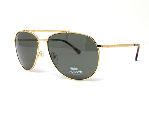 LACOSTE Sunglasses L177S 714 Gold Aviator Men's 57x15x140