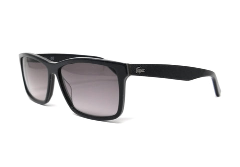 LACOSTE Sunglasses L705S 001 Black-Brown Rectangle Men's 57x13x140