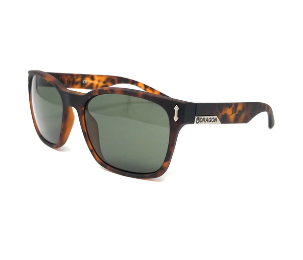 DRAGON Sunglasses 511S LIEGE 226 Matte Tortoise Square Men's 55x18x140